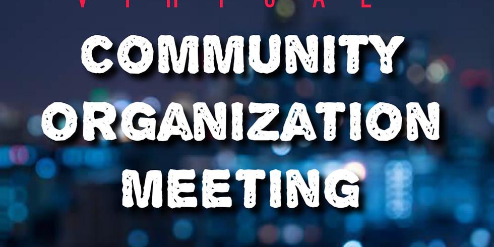Community Organization Meeting