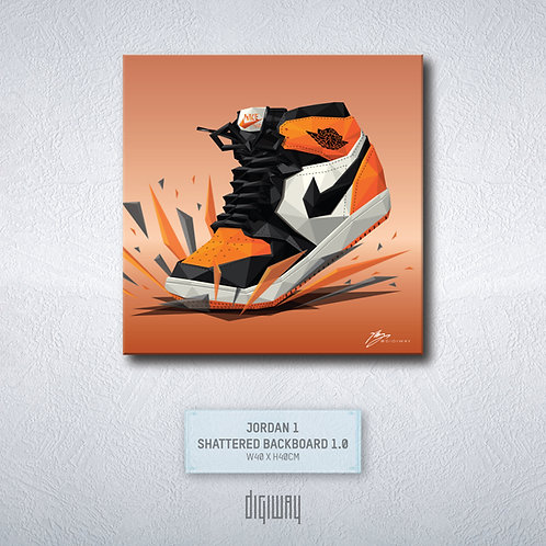 Air Jordan 1 - Shattered Backboard 1.0