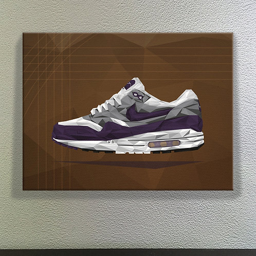 Nike Air Max 1 x Patta - Purple
