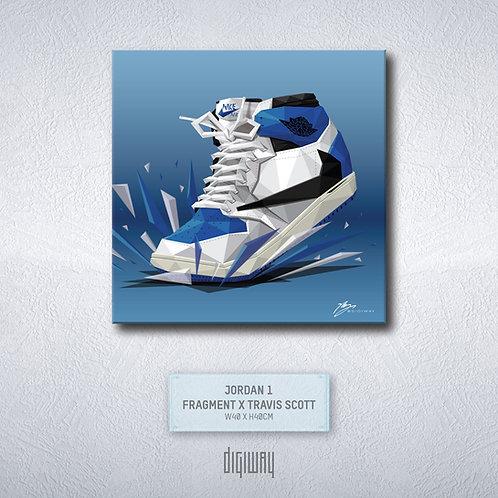 Air Jordan 1 - Fragment x Travis Scott