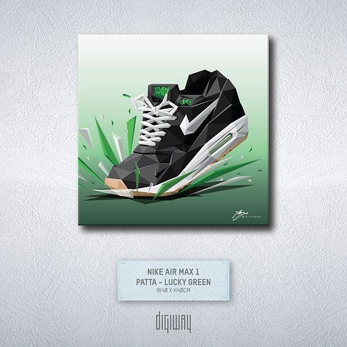 Air Max 1 - Patta - Lucky Green