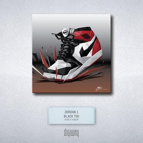 Air Jordan 1 - Black Toe