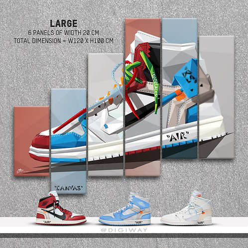 Jordan 1 x Off-White Collection