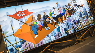 KICKS IN THE AIR / NIKEHKG @K11 MUSEA