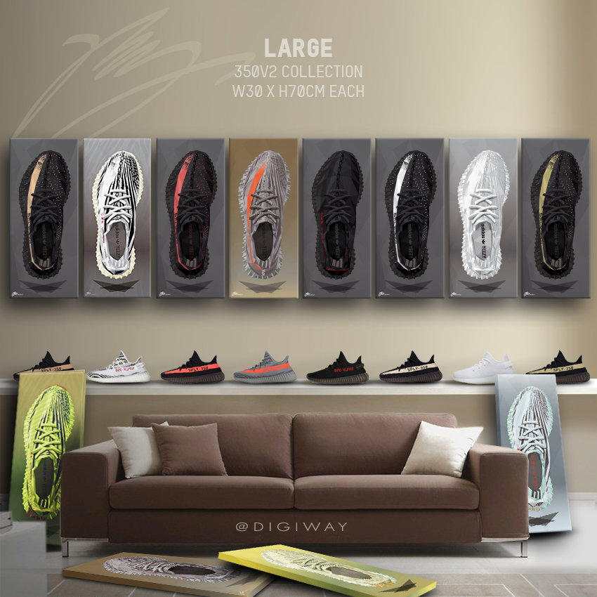 Yeezy Boost 350v2 collection topview
