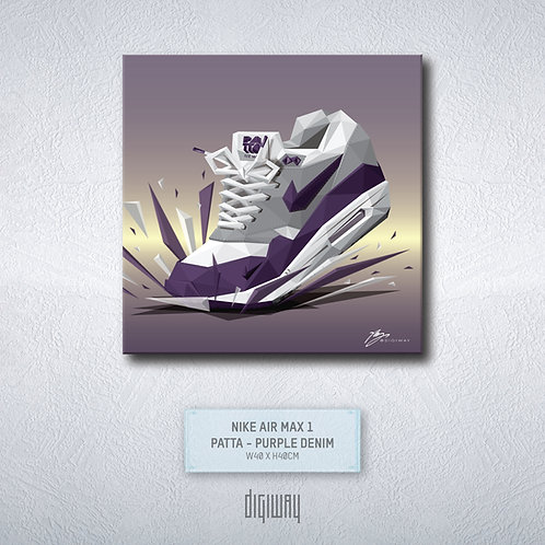 Air Max 1 - Patta - Purple Denim