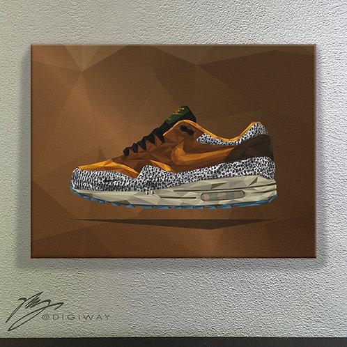 Nike Air Max 1 x Atmos - Safari