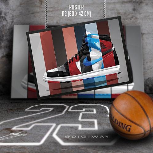 Nike Air Jordan 1 - '85 Collection (print)