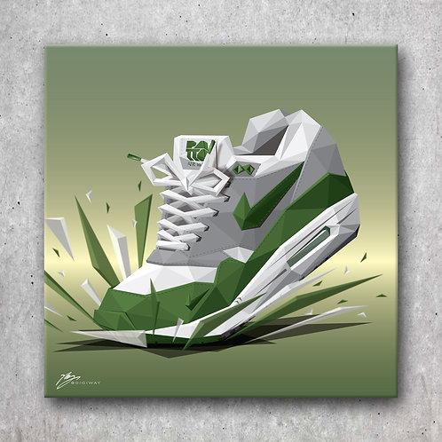 Nike Air Max 1- Patta Chlorophyll