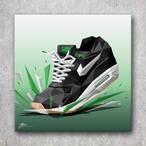 d6903912aa Nike Air Max 1- Patta Lucky Green