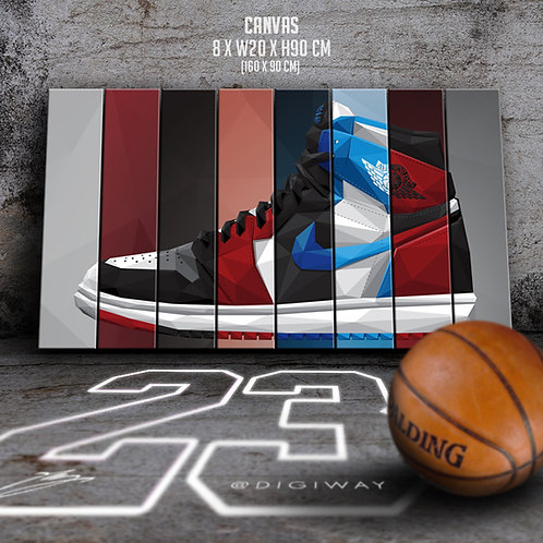 Nike Air Jordan 1 - '85 Collection (canvas)