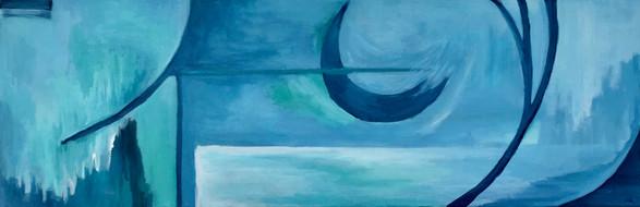 Blue Low Tide