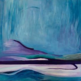 Blue under Water