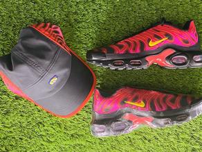 Supreme x Nike Air Max Plus/Hat Set