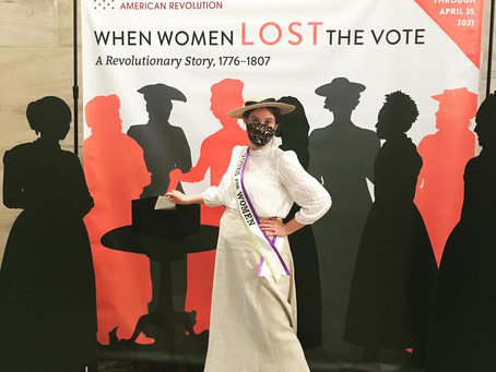 18th Century Jersey Girls Rock the Vote