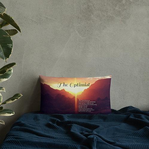 The Optimist Prayer Premium Pillow