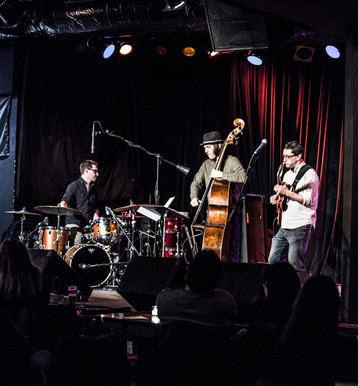 Dan Bruce Trio at Martyrs in Chicago for the ChiTown JazzFest