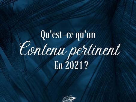 Communication bien-être : qu'est ce qu'un contenu pertinent en 2021 ?