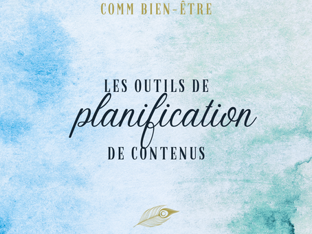 3 outils de planification de contenus