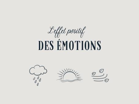 L'effet positif des émotions