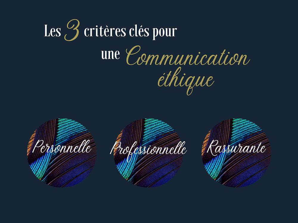3 piliers pour une communication éthique - Communication Bordeaux - Communication éthique - Bien-être Bordeaux