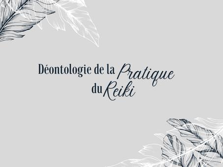 Pratique du Reiki et déontologie : charte d'engagement