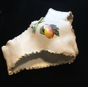 Pear Dinnerware Panties (Side View)