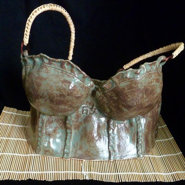 石女 (umazume, stone woman) Teapot Bustier