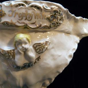 Rococo Porcelain Trophy Wife Pantie (Detail)
