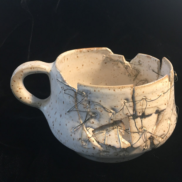 Mended cup