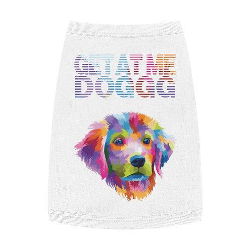 """Get at me Dogg"" Techno Pup Fetch Social Pet Tank Top"