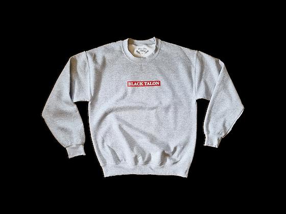 Grey Box Logo Sweatshirt