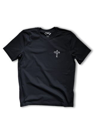 Black Talon Barbed Cross Tee (Black)