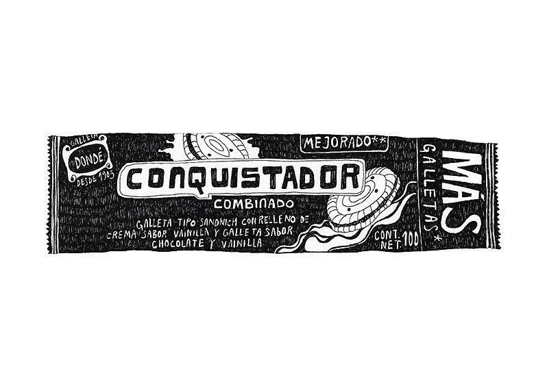 08-X Conquistador_Estilografo y tinta ro