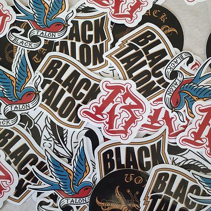 Black Talon Signature Sticker 5-Pack