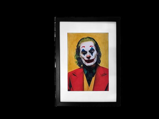"""A3 """"The Joker"""" Print"""