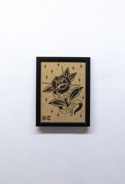 Traditional Rose Print