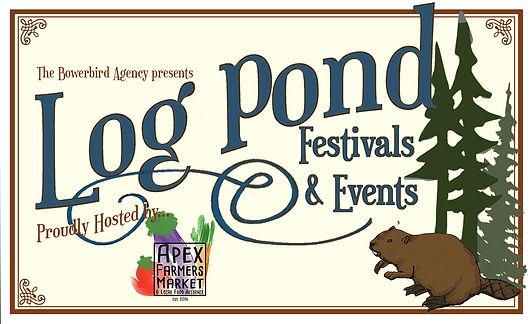 Logpond festival and event brand sm copy