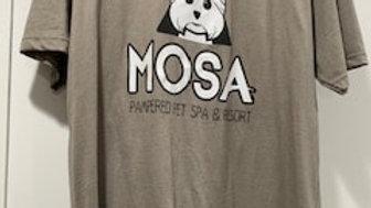 dark grey Mosa t-shirt