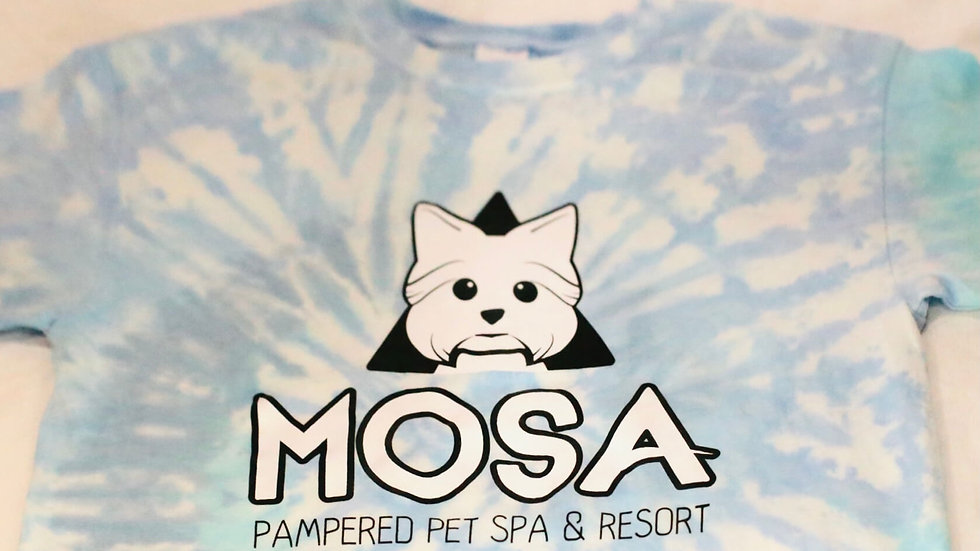 Mosa Pet Spa & Resort Tye-Dye Shirt