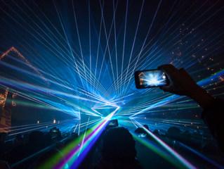 Outdoor Lasershow
