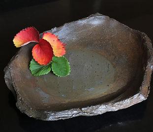 南蛮陶板皿 B4411/W 37.0/D 30.6/H 5.0 ㎝  ¥40,000(税別)