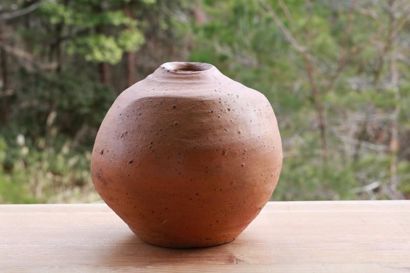 南蛮扁壺 P2330