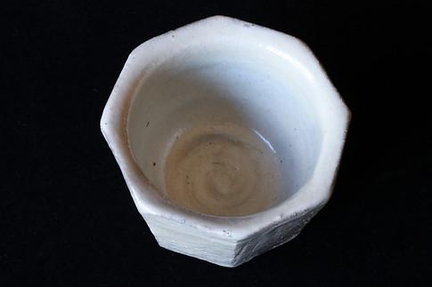 粉引八角小鉢 A9339
