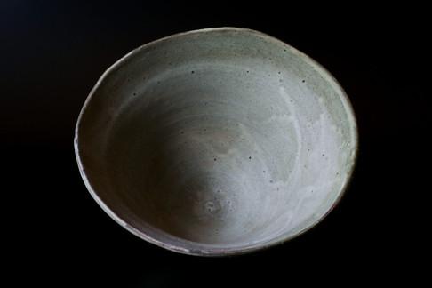 鉄彩深鉢 P1315