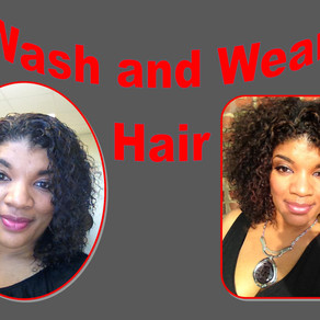 My Wash and wear Extensions