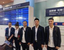 関西空港入国今週は10名。たくさん学生が入国しました。