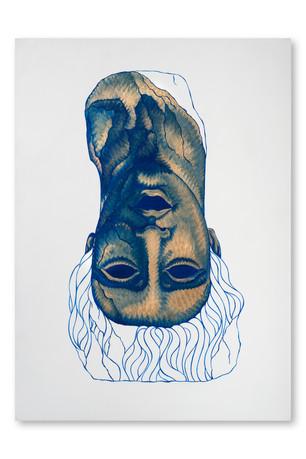 Pietro Librici, Oops... C'è Qualcosa di Sbagliato nella Mia Testa! (Oops... There's Something Wrong In My Head!), Oil on canvas, 50x70 cm.