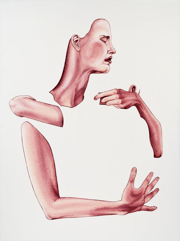 Pietro Librici, Sono Sempre con Te (Always With You), Oil on canvas, 100x75 cm.