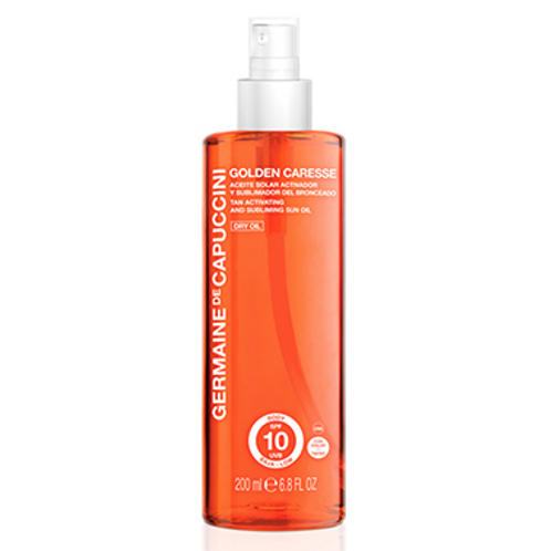 Tan Activating and Subliming Sun Oil SPF 10 Dry Oil Tinted